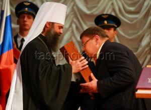 Церемония инаугурации избранного губернатора Ивановской области П.Конькова