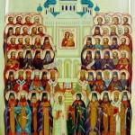 Собор Воронежских святых икона