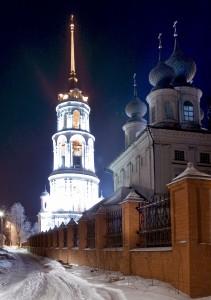 собор зима