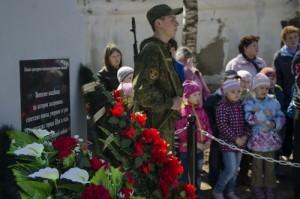 мемориал на вознесенском кладбище